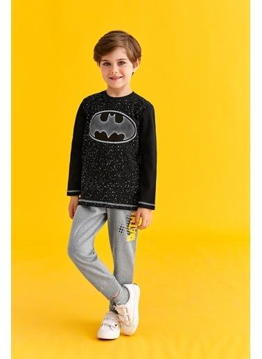Batman Batman Lisanslı Erkek Çocuk Eşofman Takımı Sarı Siyah